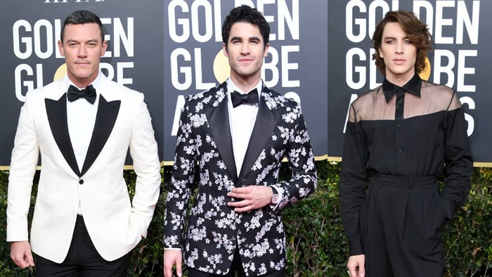 Os looks masculinos do Golden Globes 2019