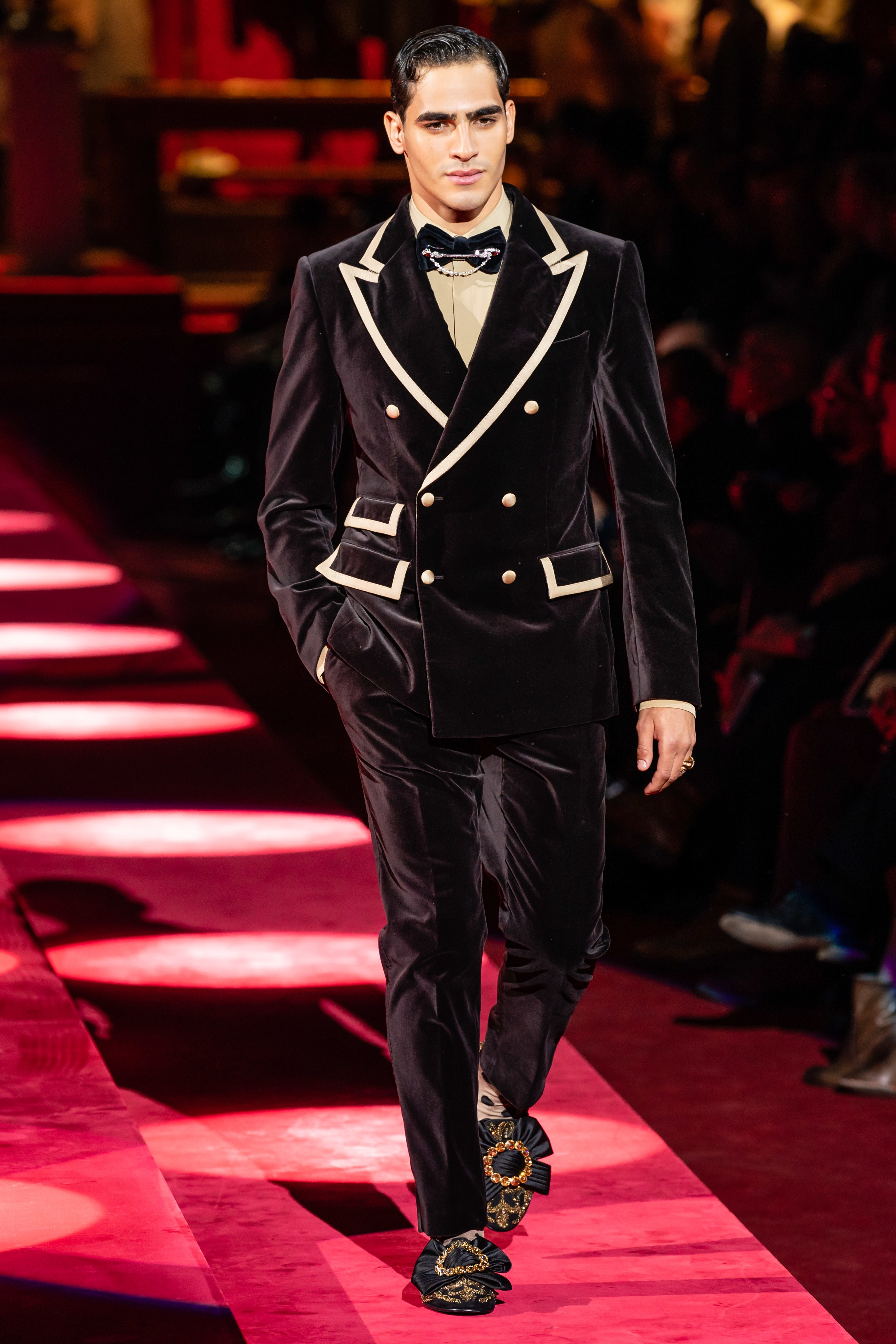 Milão  Dolce and Gabbana Inverno 2019 masculino - Moda Sem Censura a1c530e7cd