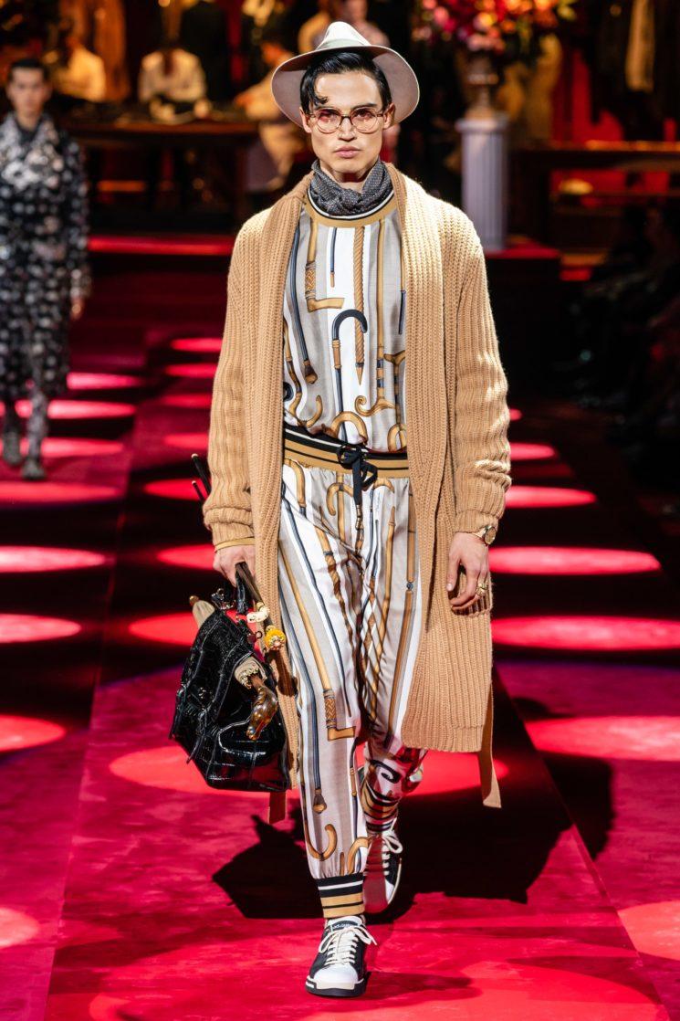 Milão: Dolce and Gabbana Inverno 2019 masculino