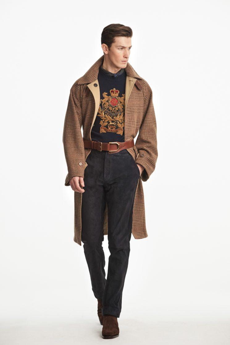 Milão: Ralph Lauren Inverno 2019 masculino