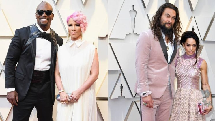 Os looks masculinos dos casais do Oscar 2019