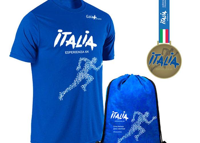 Itália e Gaia+ promovem corrida beneficente no Campo de Marte