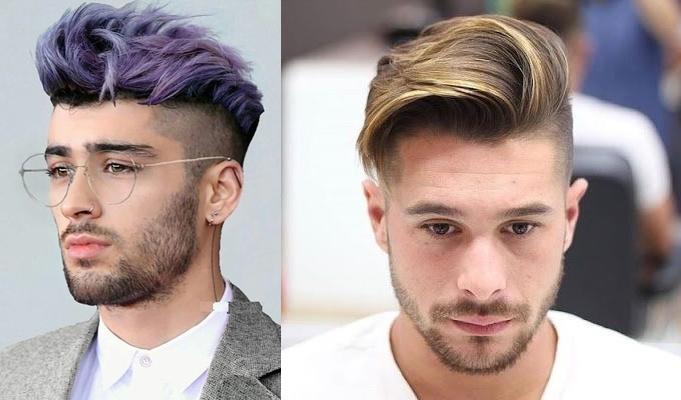 Tendência masculina: cabelo masculino com mechas