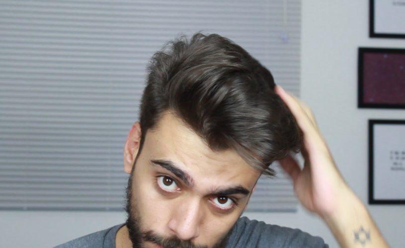 Como deixar o cabelo masculino liso natural
