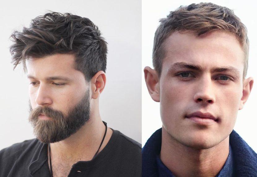 Cortes masculinos para quem tem testa grande